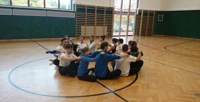 Vorbereitung des B-Teams des TSC blau-grün Wien